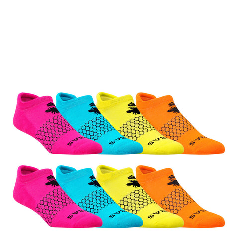 Women's Brights Ankle Eight Pack