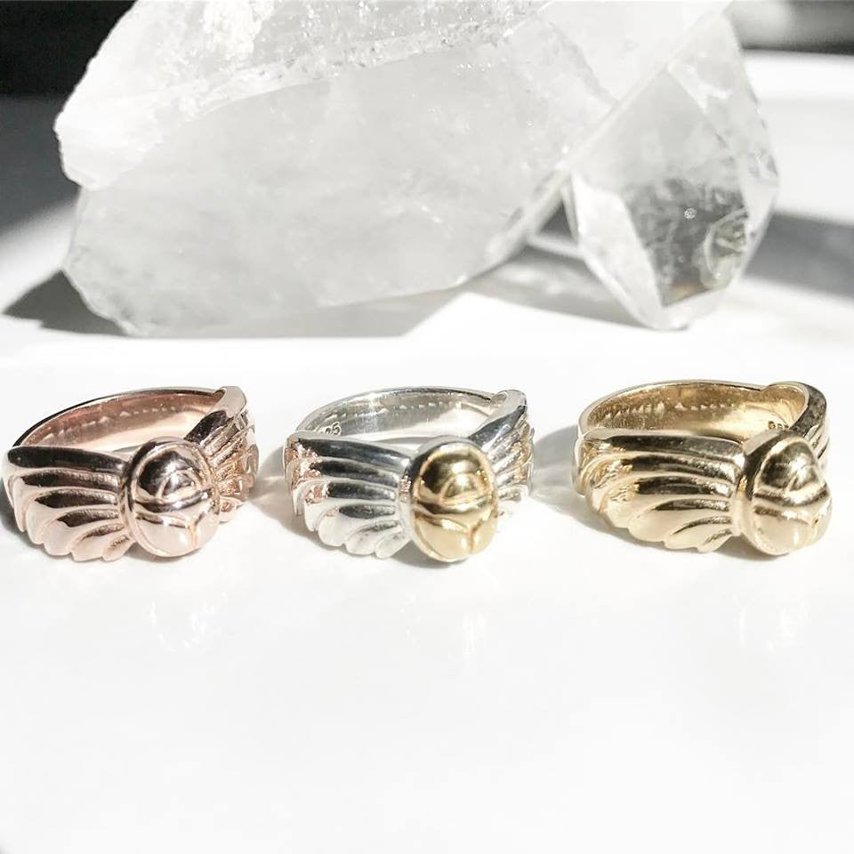 14k Gold Vermeil XEPER RING ::  :: Signature Collection