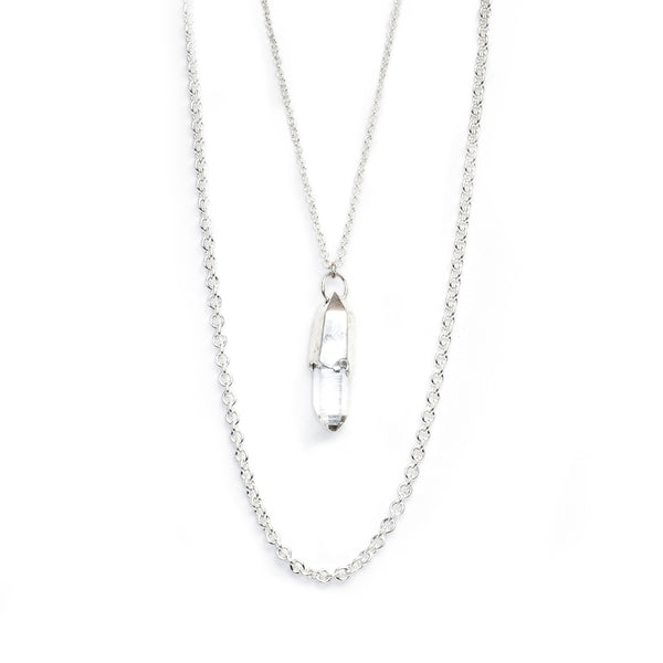 PETITE TWO-TIERED SIGNATURE NECKLACE