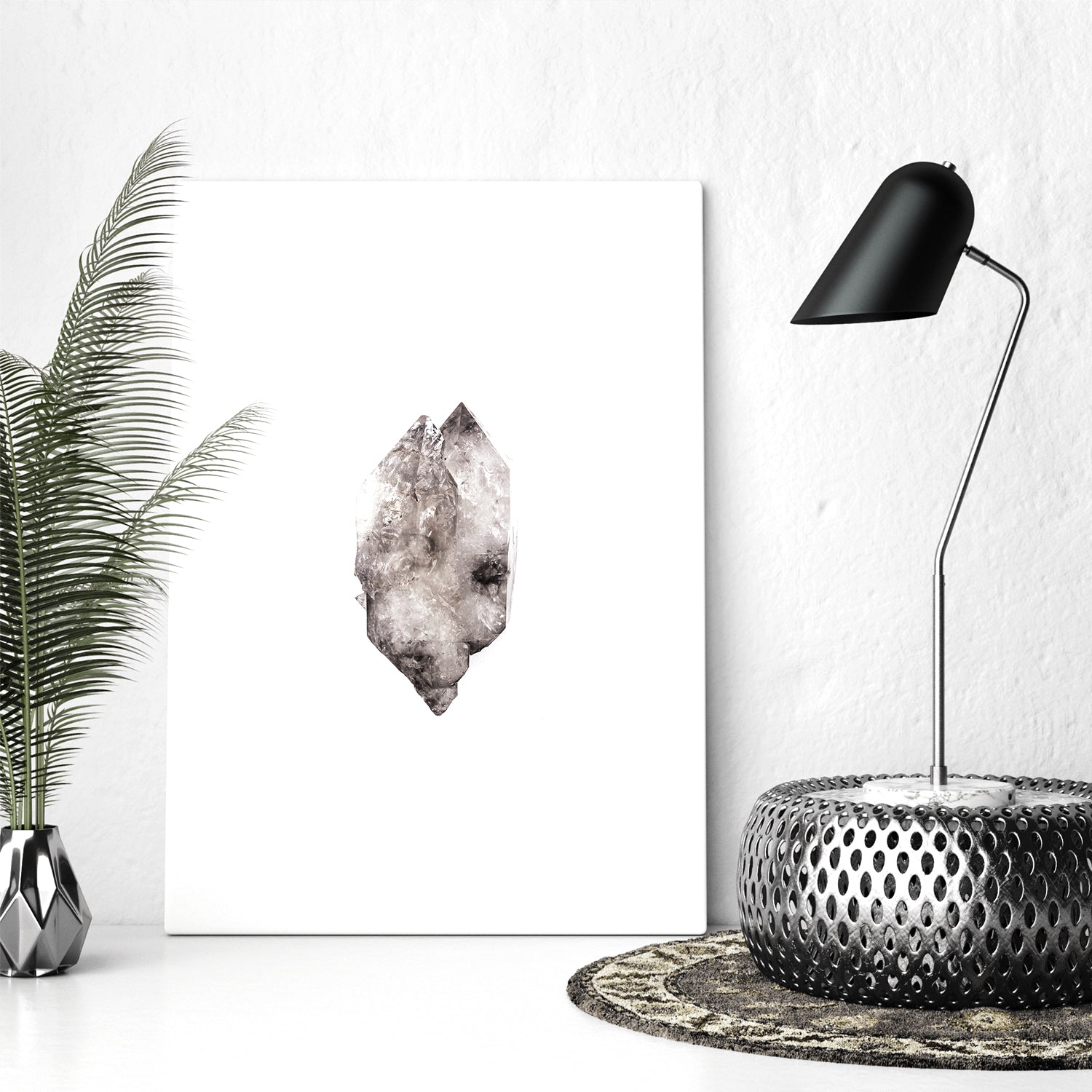 Print Collection I :: Smoky Elestial Quartz