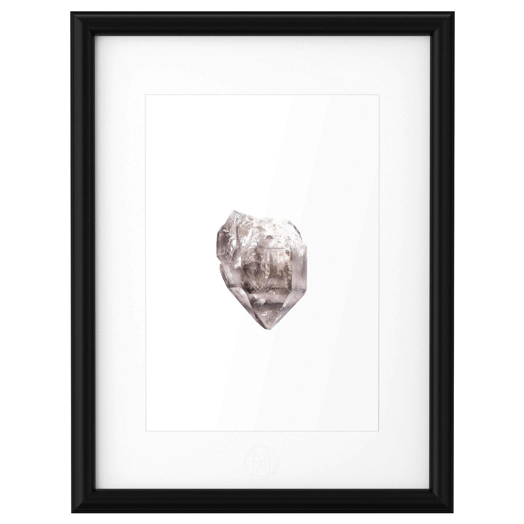Print Collection I :: Skeletal Smoky Quartz