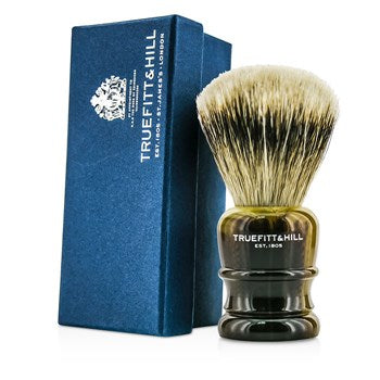 Truefitt & Hill Wellington Sliver Tip Shaving Brush Faux Horn