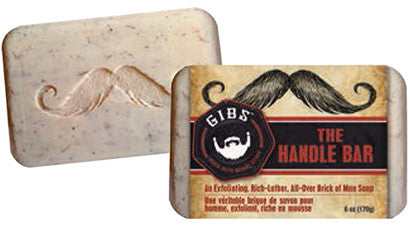 GIBS, THE HANDLE BAR SOAP - The Shaving Kit