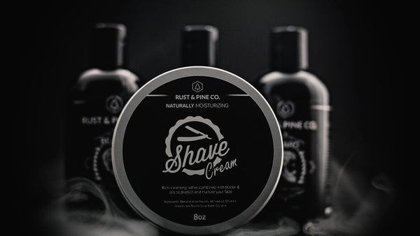 Rust and Pine Co. Shave Cream