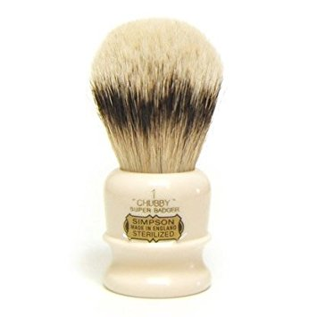 "Simpsons ""The Chubby"" 1 Super Badger Shaving Brush"
