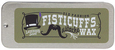 GRAVES BEFORE SHAVE FISTICUFFS MOUSTACHE WAX LAVENDER SCENT - The Shaving Kit