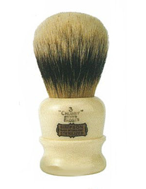 "Simpsons ""The Chubby"" 1 Best Badger Shaving Brush - The Shaving Kit"