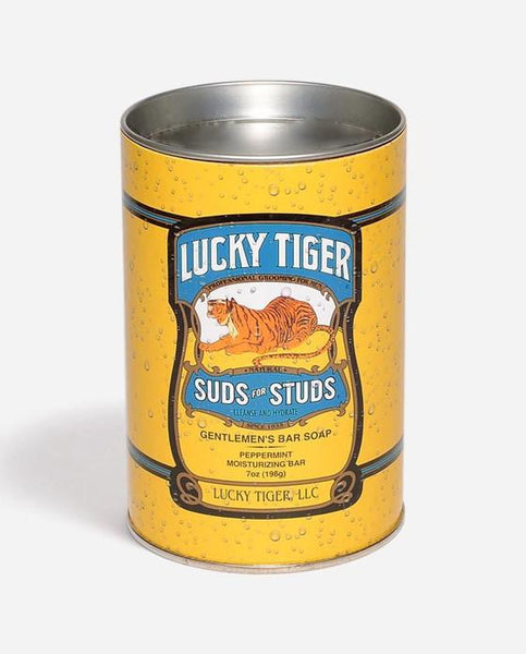 LUCKY TIGER SUDS FOR STUDS GENTLEMAN'S BAR SOAP - The Shaving Kit