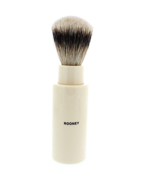 ROONEY 'TRAVEL' SHAVING BRUSH, HAND MADE, SUPER BADGER