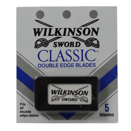 Wilkinson Sword Classic, Double Edge Razor Blades, 5pk - The Shaving Kit