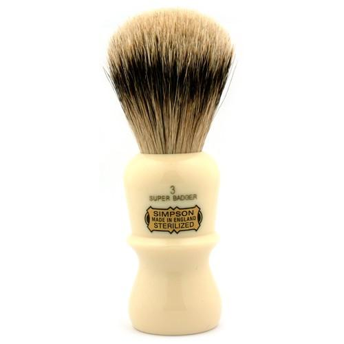 Simpson Emperor Super badger Brush E3