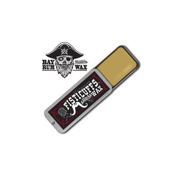 GRAVES BEFORE SHAVE FISTICUFFS MOUSTACHE WAX BAY RUM SCENT