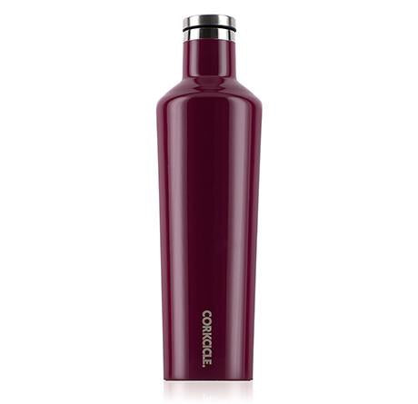 Corkcicle - Canteen: 25oz Gloss Merlot