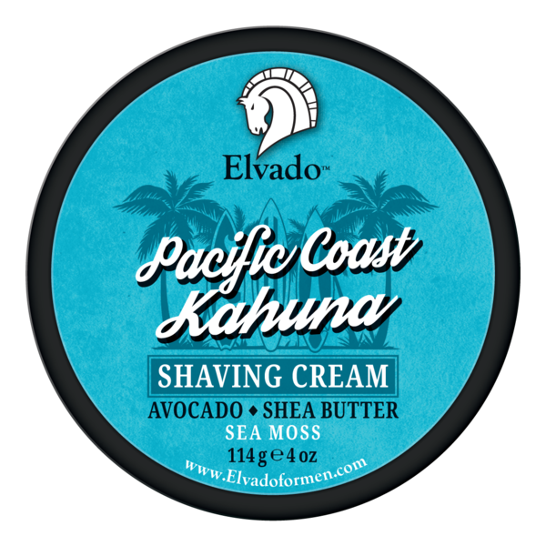 Elvado Pacific Coast Kahuna Shaving Cream in a Tub