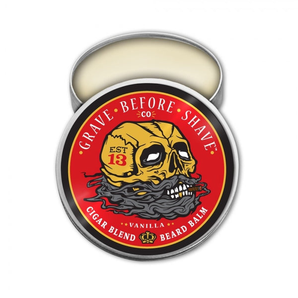 Grave Before Shave - Cigar Blend Strong Hold Mustache Wax
