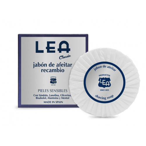 LEA, Classic Shaving Soap Refill, for Sensitive Skin - The Shaving Kit