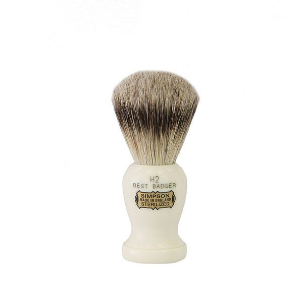 Simpsons Shaving Brush - Harvard H2 Best Badger - The Shaving Kit