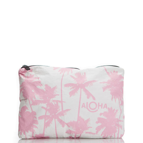mid-size Coco Palms, cotton candy print