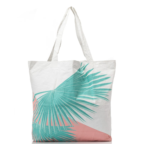 Portside Palms Reversible Tote