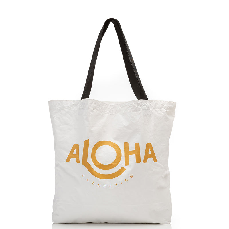 Hang Loose Reversible Tote in Seaglass