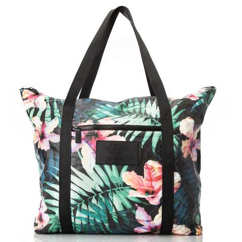 With Love From Paradise x ALOHA Zipper Tote