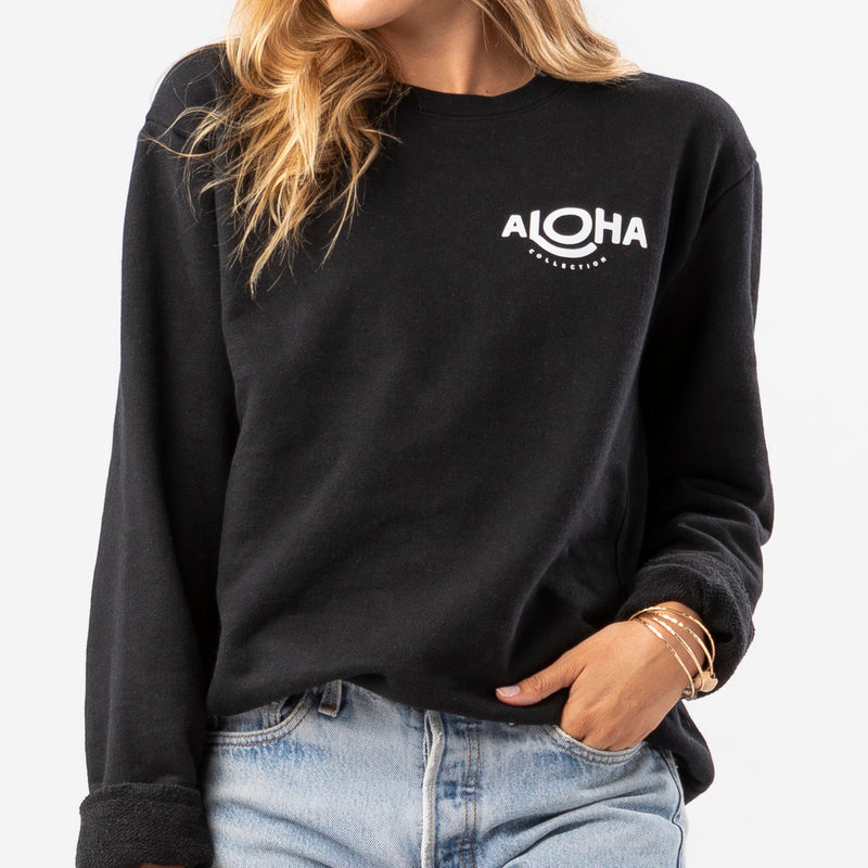 Five Years of ALOHA Relaxed Tee in Neon Pink