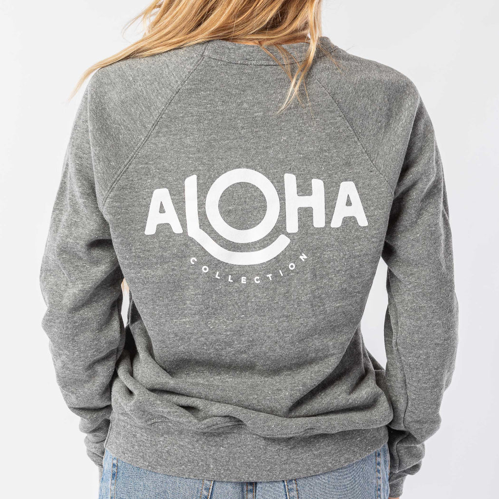 ALOHA Cozy Pullover in Gray