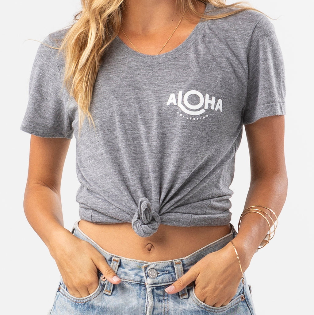 ALOHA Logo Athletic Tee