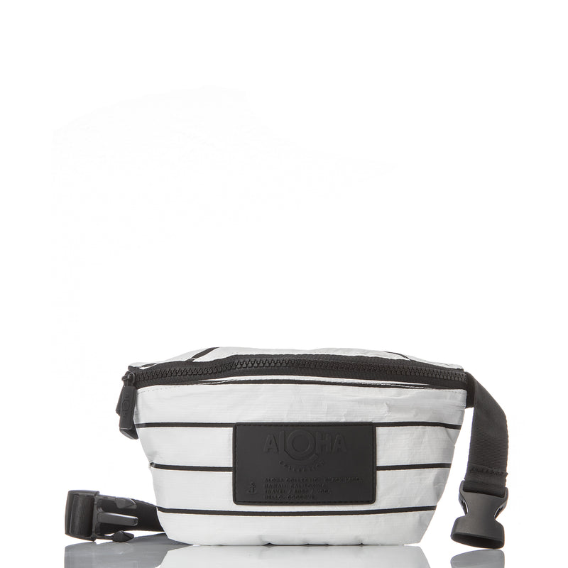 White Mini Hip Pack