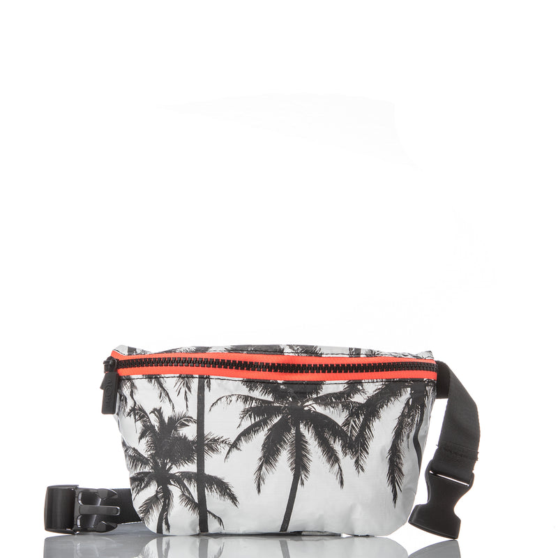 Mid Tropical Fan Palms Pouch in Pool