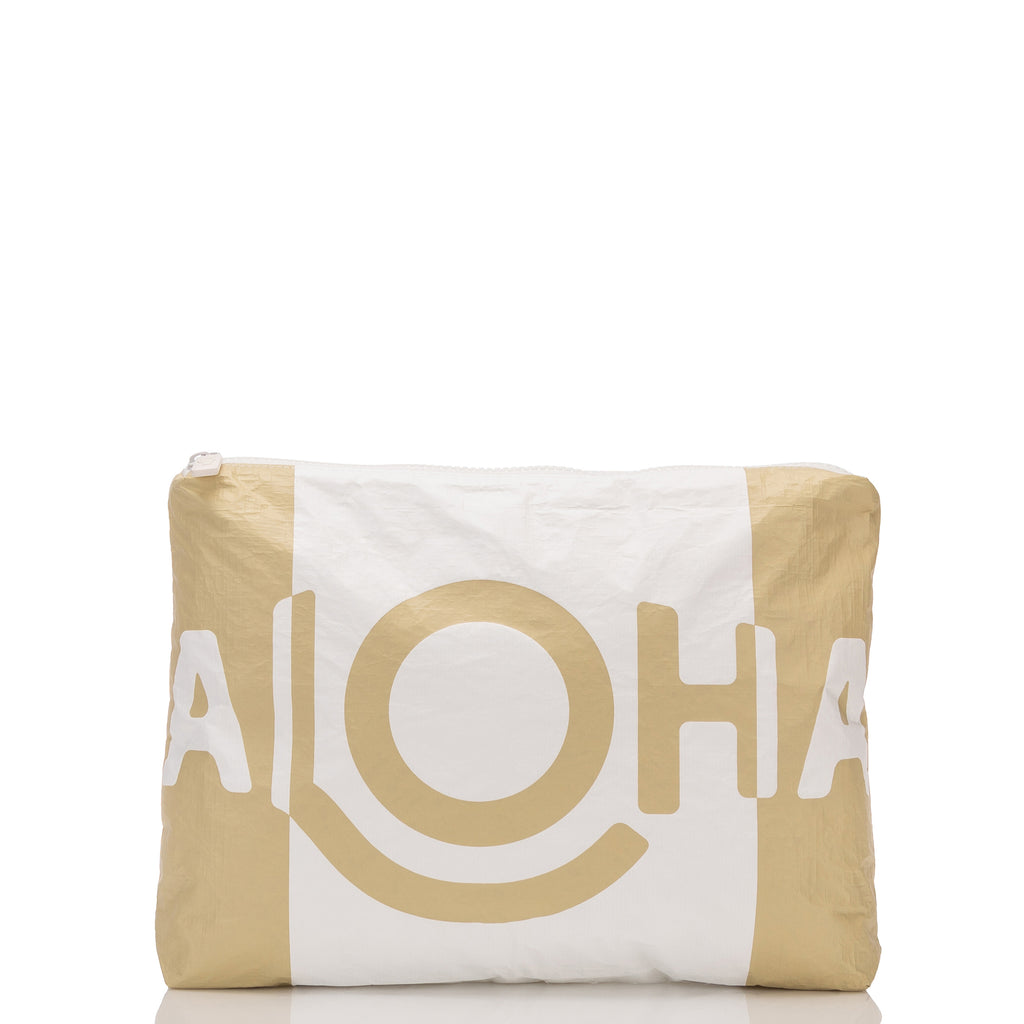 Mid ALOHA Shade Pouch in Sand