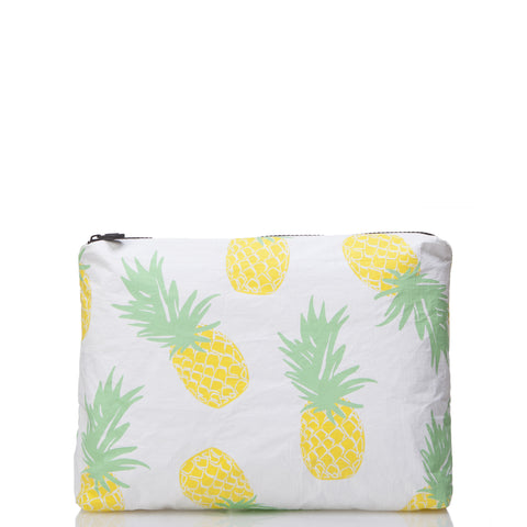 Small Pineapple Express Pouch in Yellow