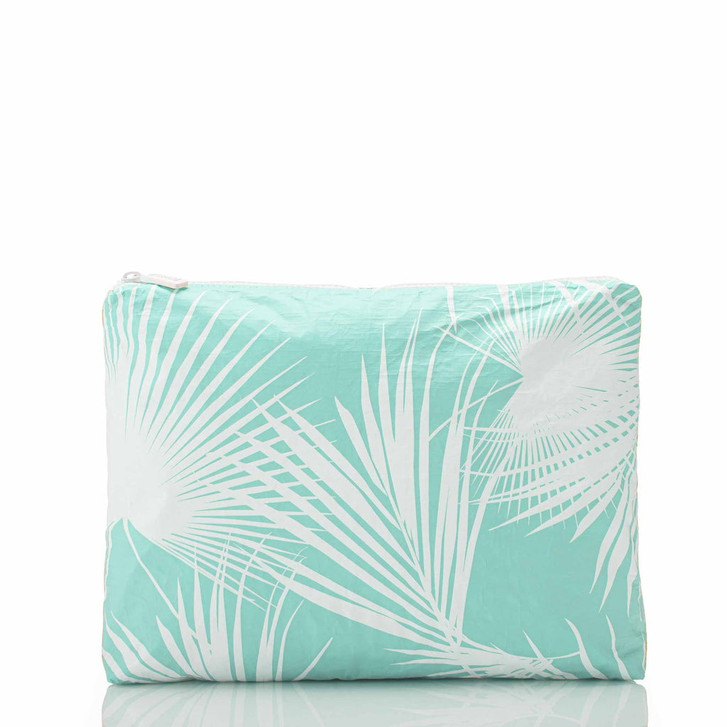 Mid Day Palms Pouch in Pool