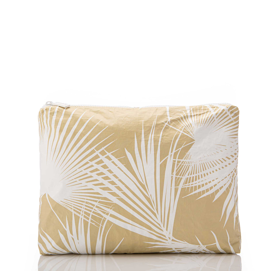 Mid Day Palms Pouch in Sand