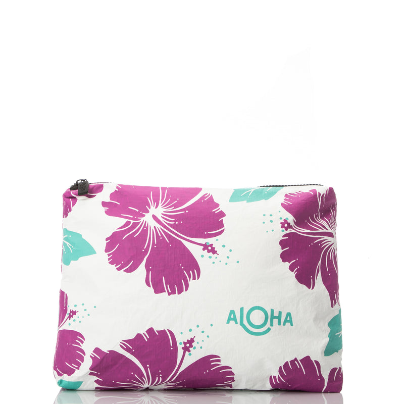 Small Lei Lei Pouch in Heather