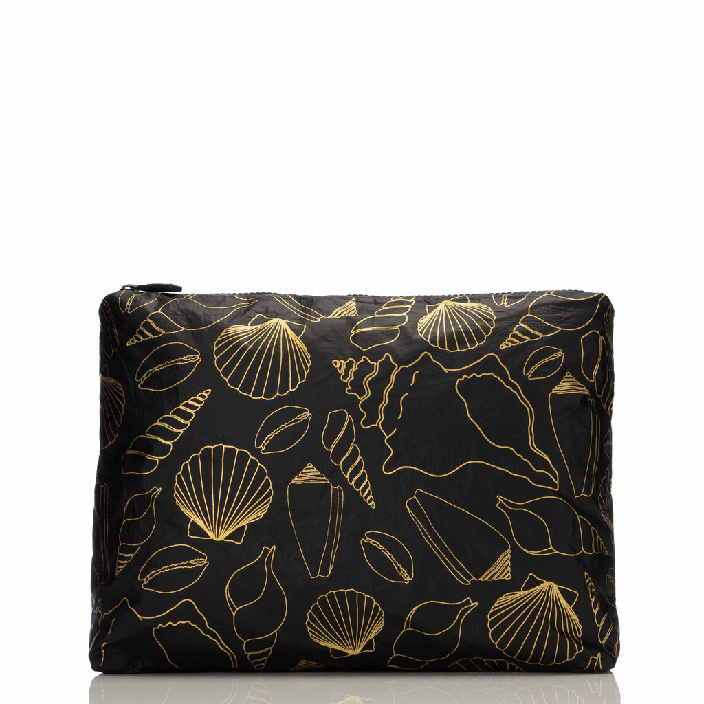 Mid Black Seashore Pouch
