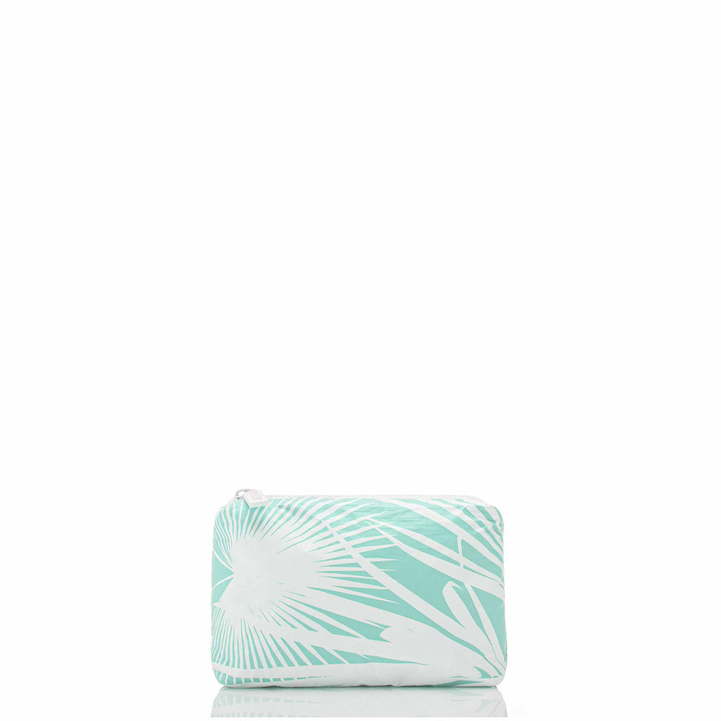 Mini Day Palms Pouch in Pool