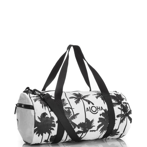 Coco Palms Mini Duffle Bag in Black