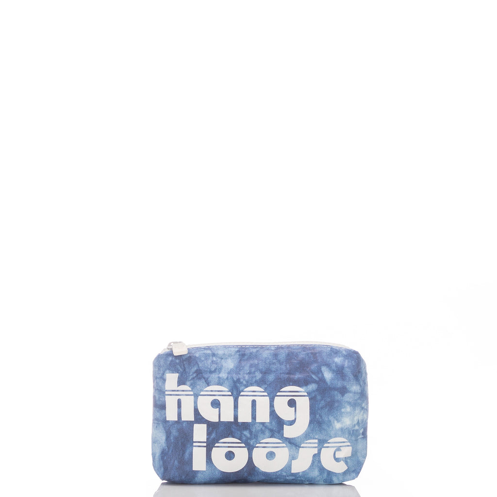 Mini Indigo Hang Loose Pouch