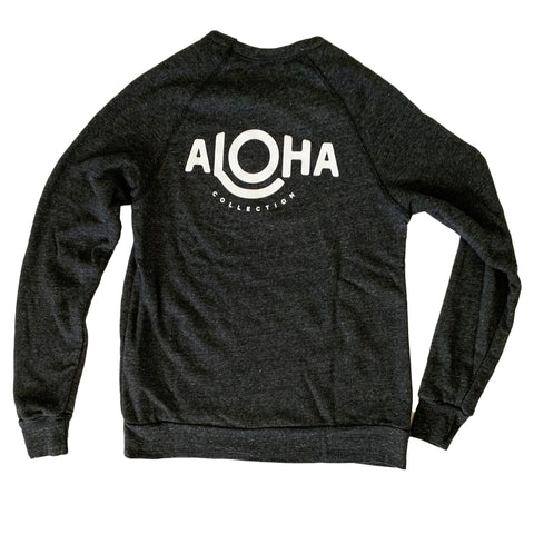 ALOHA Cozy Pullover in Faded Black