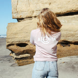 ALOHA Cozy Pullover in Rose Quartz