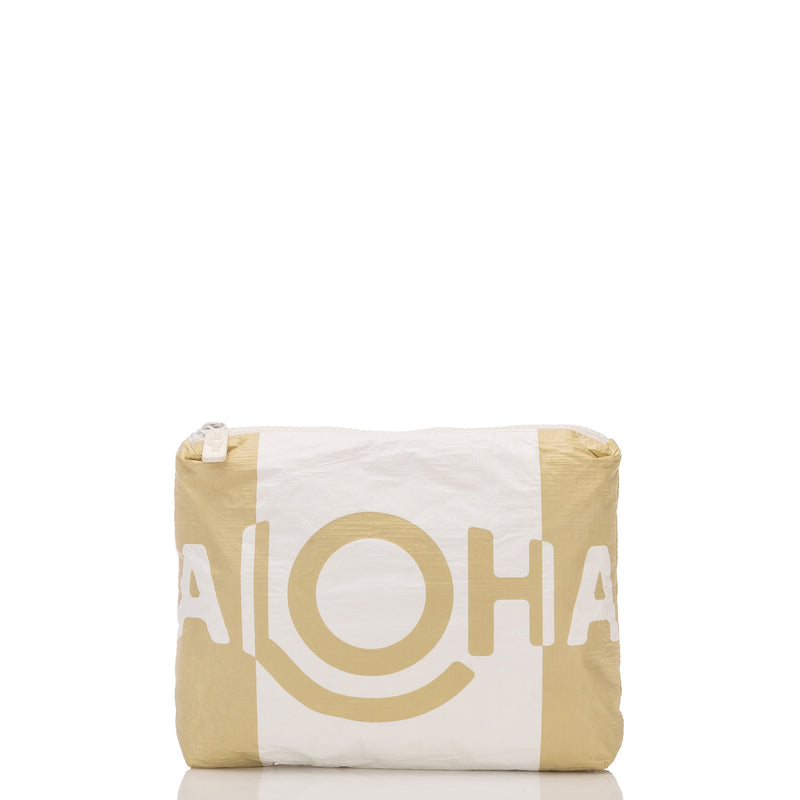 Small ALOHA Shade Pouch in Sand