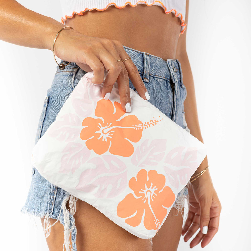 Small Big Island Hibiscus Pouch