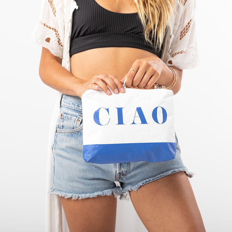 Small Ciao Pouch in Royal