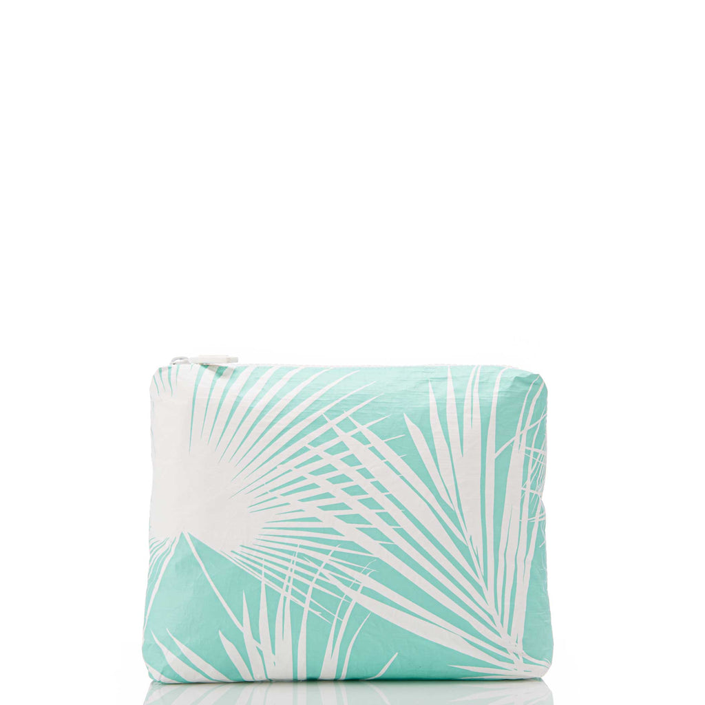 Small Day Palms Pouch in Pool