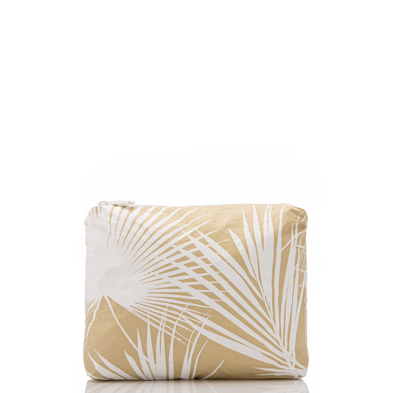 Small Day Palms Pouch in Sand