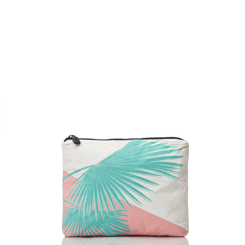 Mini Art Deco Mermaids Pouch in Rose Gold
