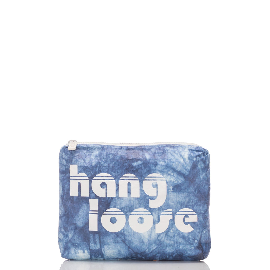 Small Indigo Hang Loose Pouch