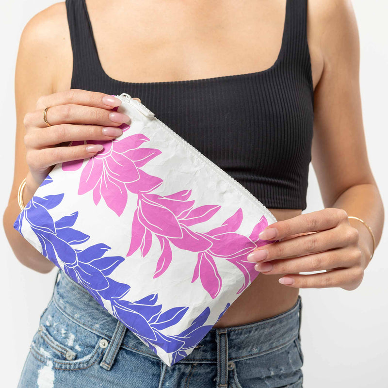 Small Lei Lei Pouch in Orchid
