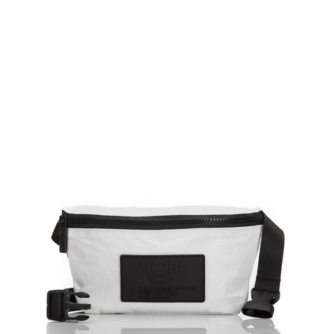 Hip Pack white, Black Label